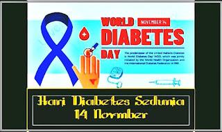 hari diabetes sedunia 14 november