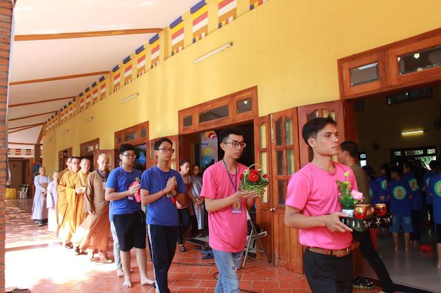 Hơn 1000 trại sinh tham dự lễ khai mạc Hội trại Tuổi trẻ Phật giáo Hệ phái Vĩnh Nghiêm lần 3 với chủ đề 'Về Nguồn' - Ảnh 3