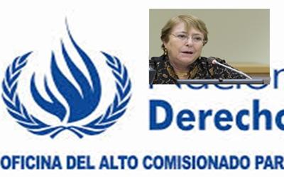 Bachelet repasa la situación de los derechos humanos en Colombia, Guatemala y Honduras