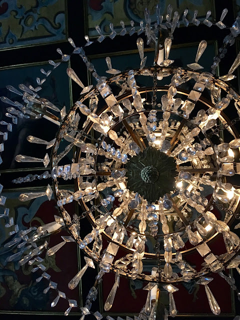 Chandelier at Rosenborg Slot, Copenhagen