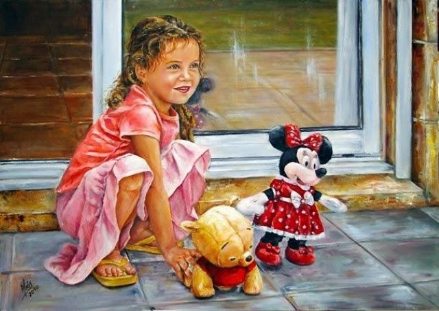 Масляная живопись. Adela Abos