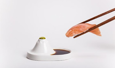 Mt. Fuji Sauce Dish