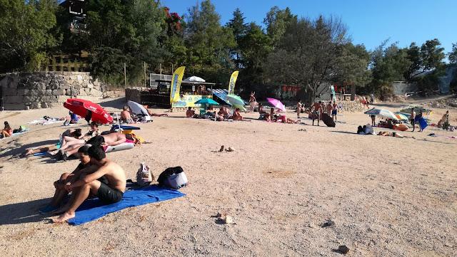 Zona de Areal da Praia do Alqueirão