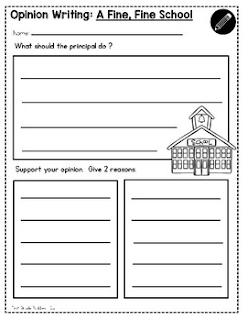 https://www.teacherspayteachers.com/Product/Opinion-Writing-Writing-Templates-Reading-Response-W-K1-W-11-3439994