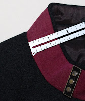 TNG season 2 admiral uniform - collar
