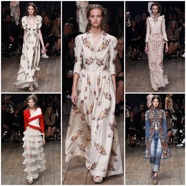 RUNWAY REPORT.....Paris Fashion Week: Alexander McQueen by Sarah Burton Spring/Summer 2016 Photos + Full Video!