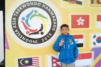 Ikhsan Abhiyasa, Siswa SDIT Umar Bin Khathab Unjuk Prestasi di Ajang Kejuaraan Indonesia Asia Taekwondo