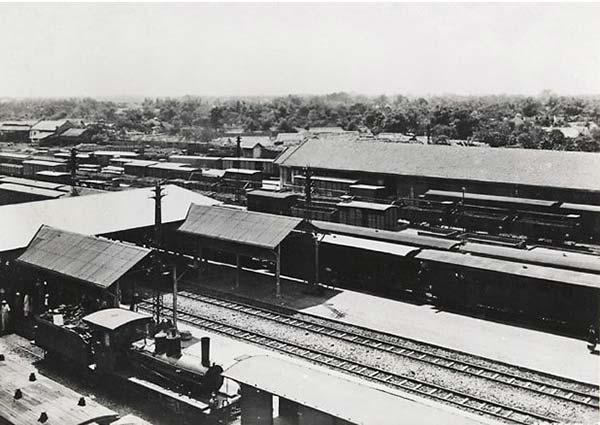 Hà Nội xưa - nhà ga