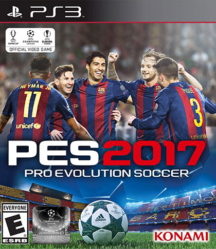 تحميل لعبة Pro Evolution Soccer 2017 PS3