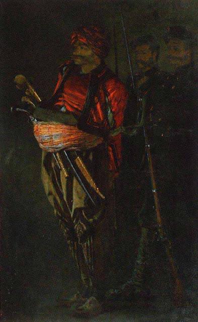 Василий Васильевич Верещагин - Башибузук (Албанец). 1877-1878