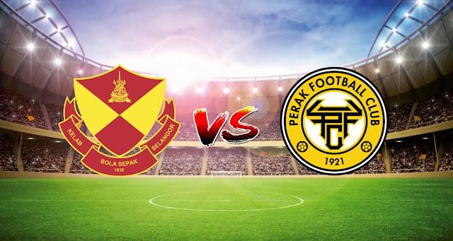 Live Streaming Selangor FC vs Perak FC 10.4.2021 Liga Super
