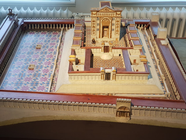 """המקדש במוזיאון התנ""""ך באמסטרדם"""