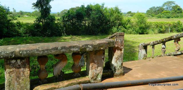 Antiga área de cultivo da Missão Jesuítica de San Ignacio Miní