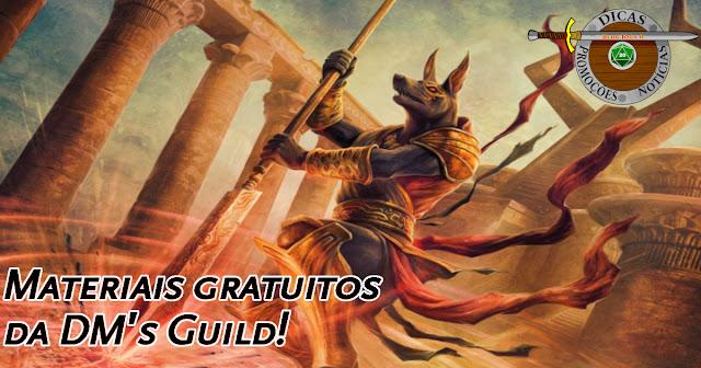 Materiais Gratuitos DM's Guild