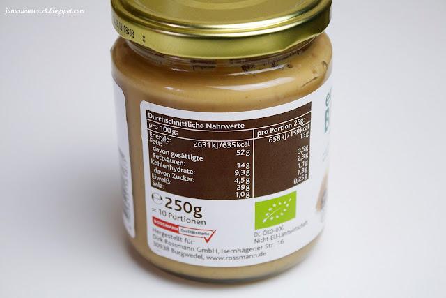 masło orzechowe enerBio