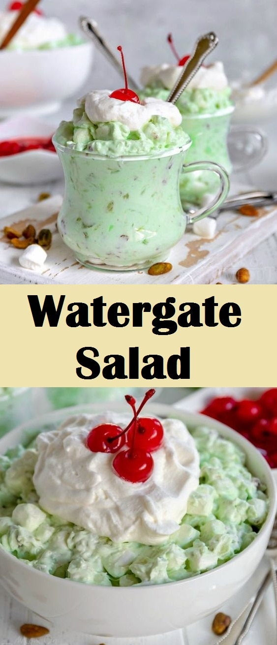 Easy Watergate Salad Recipe