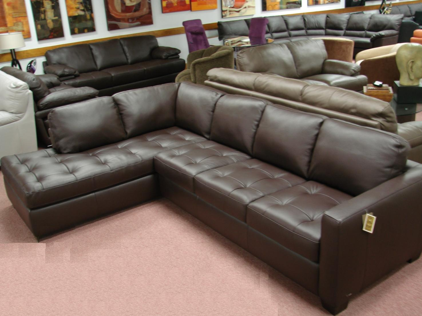 Natuzzi Leather Sofas & Sectionals by Interior Concepts ...
