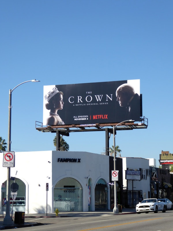 Crown TV billboard