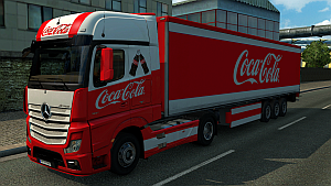 Coca-Cola pack for Mercedes MP4