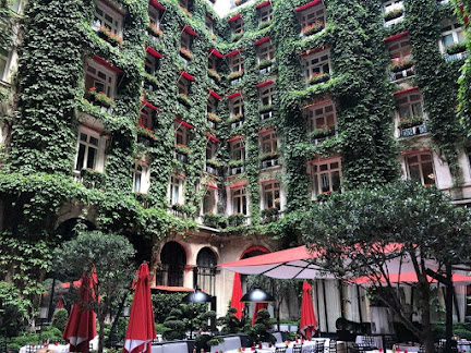 Hotel Plaza Athenee has a classic romantic feel in a city of millions of stories