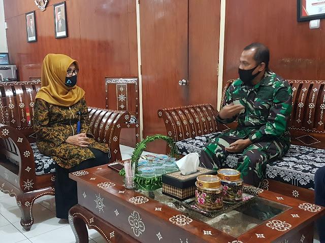 Komandan Lanal Mataram Silaturahmi Dengan Kepala LPP RRI Mataram