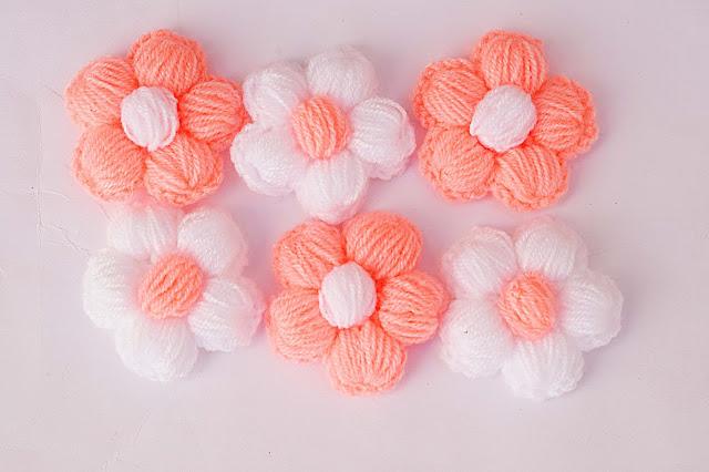 1 - Crochet Imagen Puntada de flores a crochet y ganchillo por Majovel Crochet