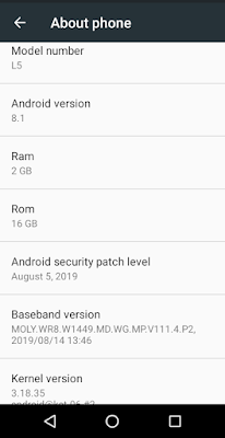 MTL L5 FLASH FILE MT6570 ANDROID 8.1 FIRMWARE