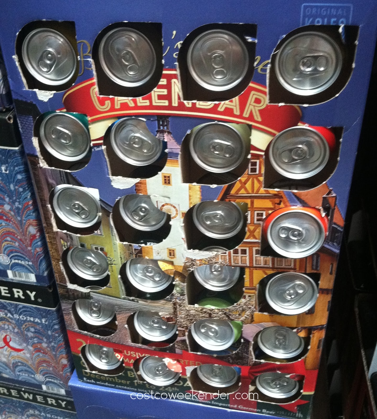 Costco 612833 - Brewer's Advent Calendar gives you a beer a day during the holidays