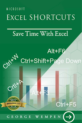 [Free ebook Download]Microsoft Excel Shortcuts: Save Time Working With Excel; Master Excel Shortcuts in 30 days by George Wempen