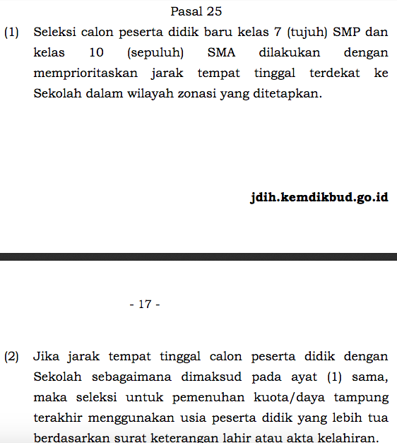 Kisruh PPDB DKI 2020 Jalur Zonasi