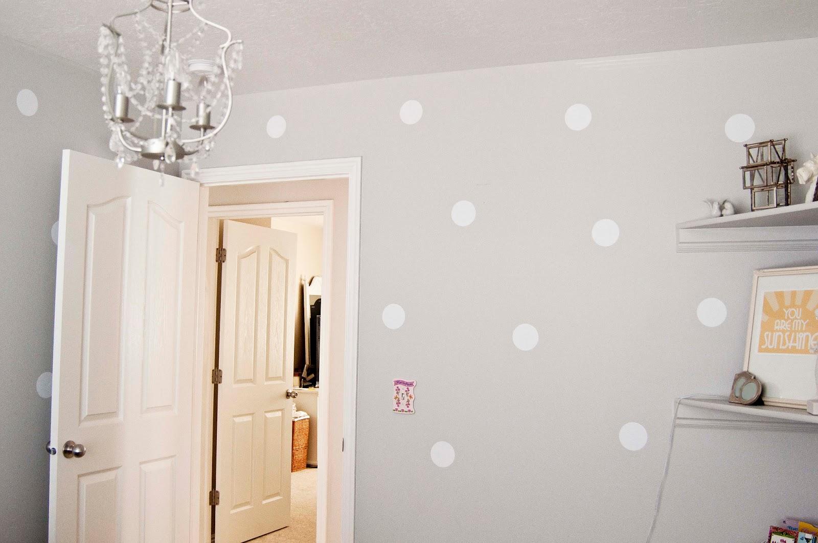 A Few of My Favorite Things: Polka-Dot Walls