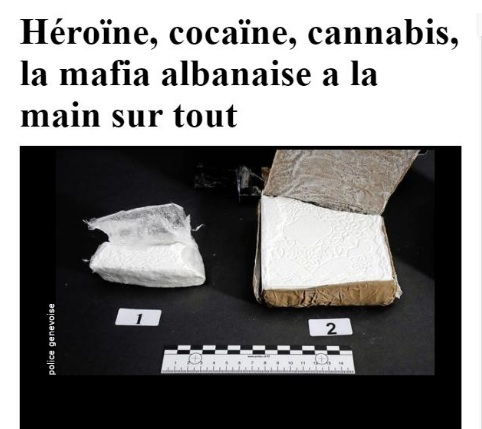 Albanian Mafia takes the control of cocaine trafficking in Switzerland