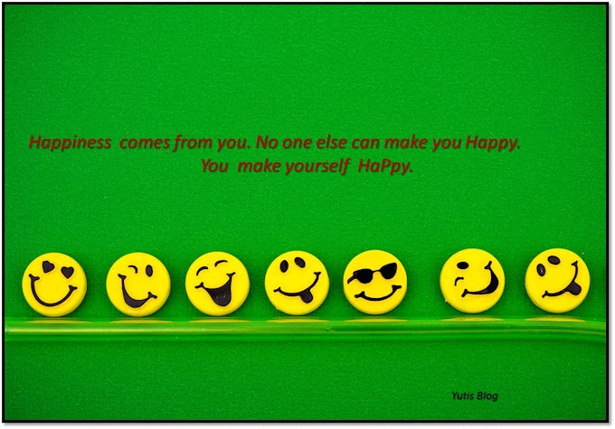 Happiness not about getting all you want