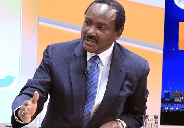 Kalonzo Musyoka to sign a deal with Uhuru Kenyattas' Jubilee party