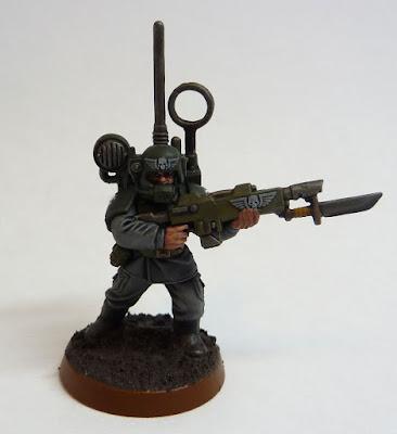Astra Militarum vox-caster for Warhammer 40,000