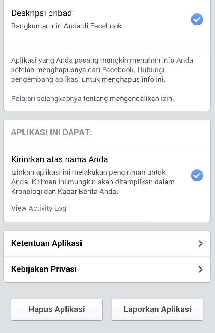 Step 5 Cara menghapus spam Facebook siapalihat.com