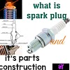 spark plugs working and it's construction