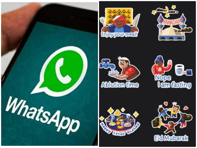 whatsapp launches stickers pack new