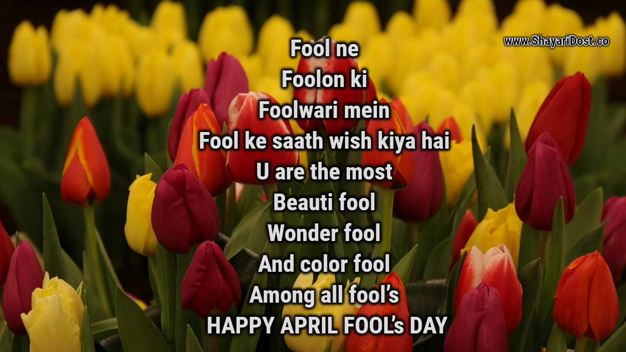 April Fool Shayari Hindi 2020 | April Fool Banaya