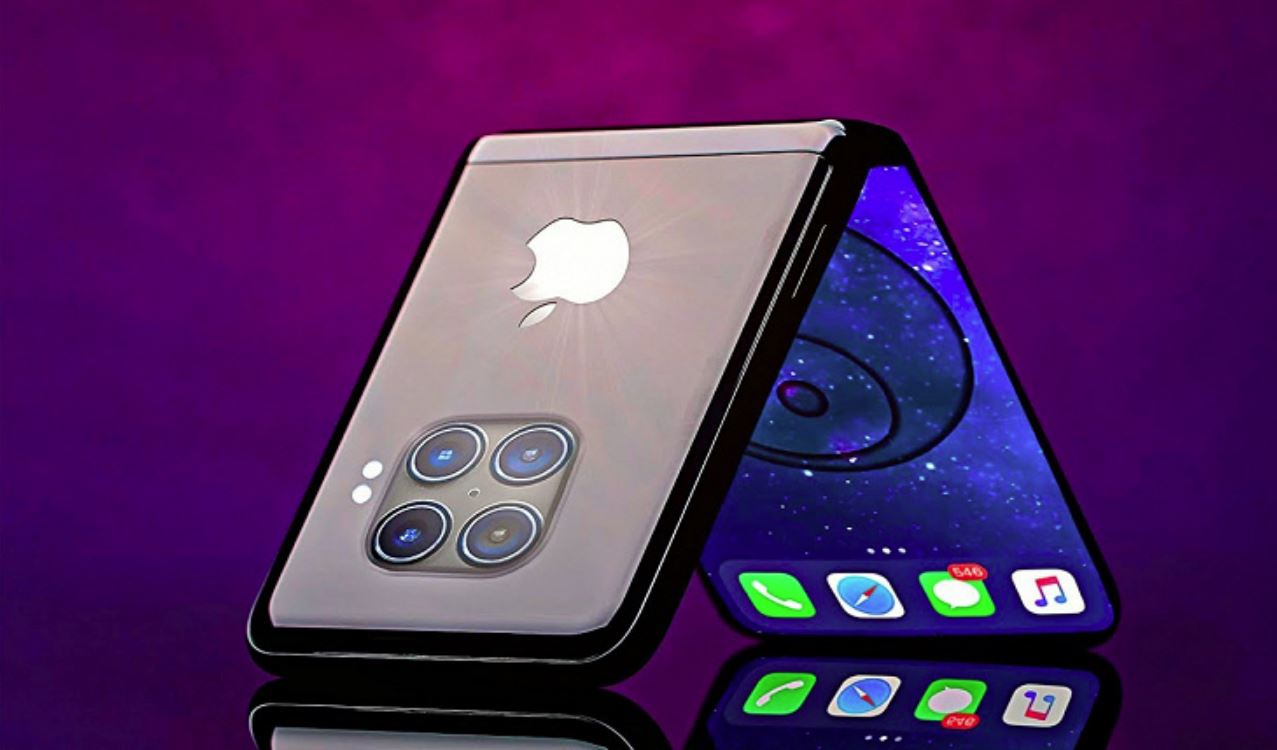 The first folding iPhone has two screens that are perceived as a whole