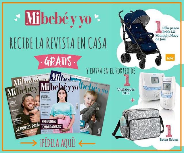 6 revistas Mi bebé y yo gratis ¡Pídelas ya!