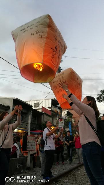 Goodbye Sky lantern!