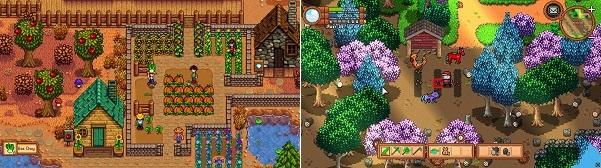 Comparison of Stardew Valley vs Monster Harvest