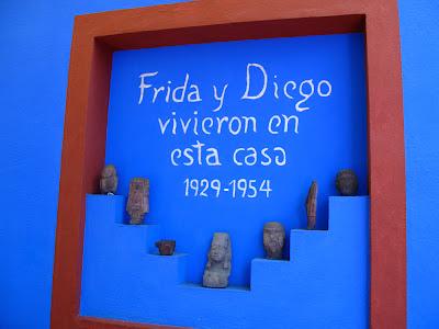 Casa Azul a Città del Messico dove visse Frida Khalo
