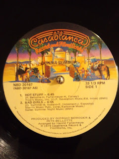 Hot Stuff / Donna Summer の12インチシングル盤です。