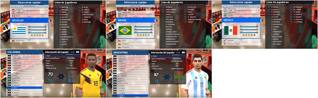 Option File PES 2017 untuk PTE 6.1 update 15/6/2018