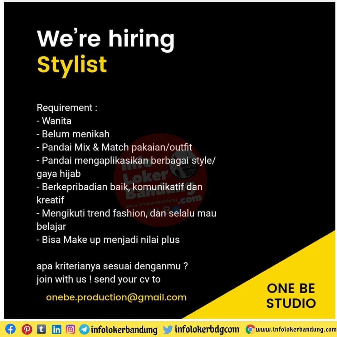 Lowongan Kerja One Be Studio Bandung November 2020