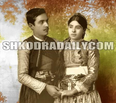 Kolë Gurashi me gruan e tij Nine Gurashi