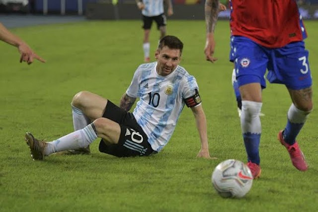 Argentina draw with Chile at Copa America