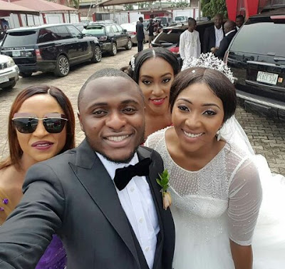 More Photos From Lilian Esoro And Ubi Franklin Wedding.